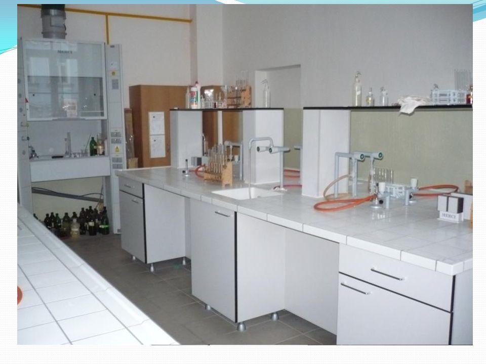 Laboratorní práce Naše laboratoř