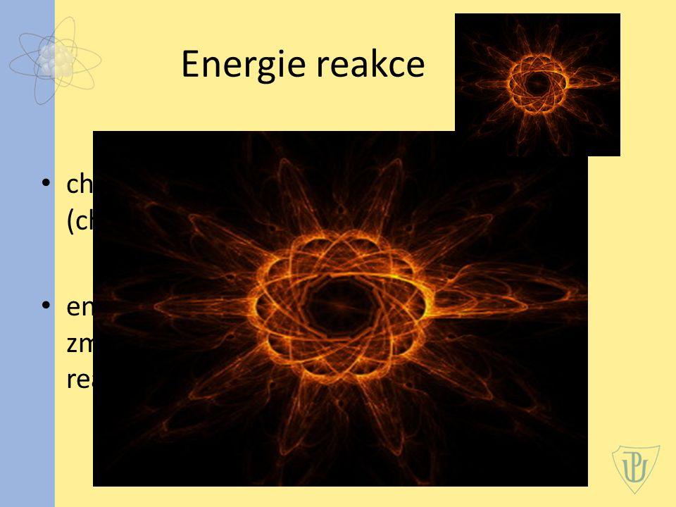 Energie reakce charakterizuje energetickou bilanci reakce (chemické nebo jaderné reakce) energie, kterou z dané reakce získáme, zmenšená o energii, kterou bylo nutné do reakce dodat, aby reakce vůbec proběhla.