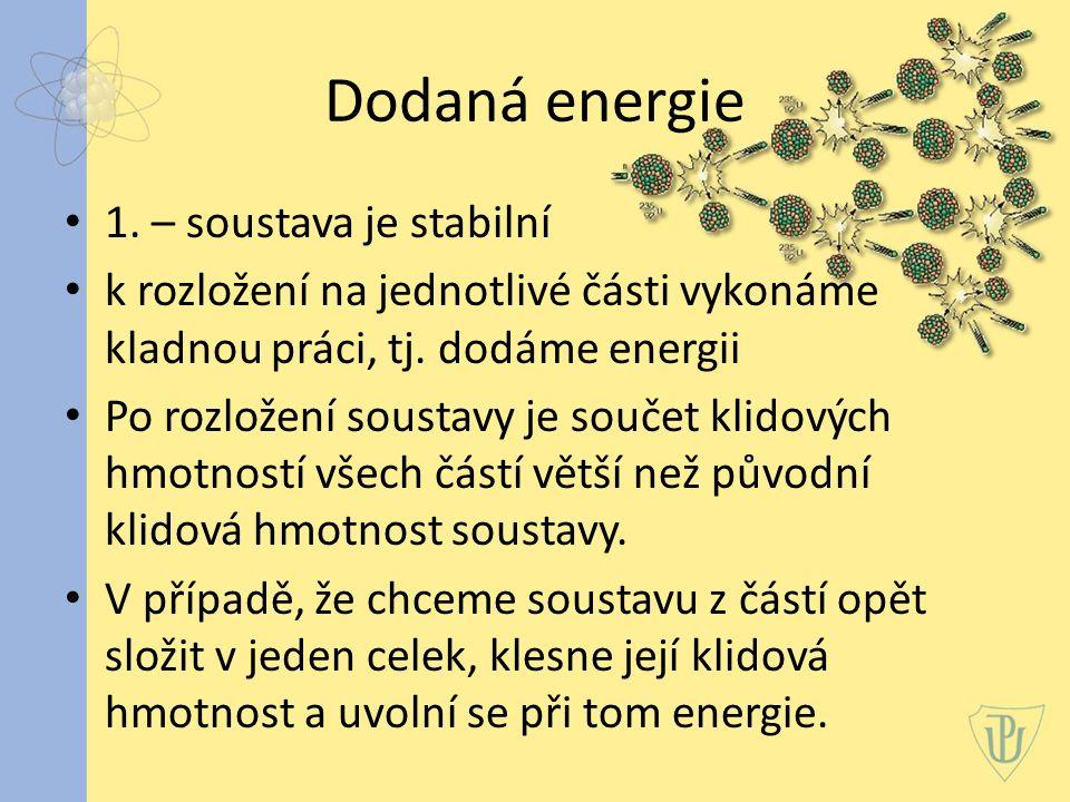 Dodaná energie 1.