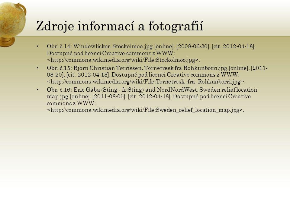 Zdroje informací a fotografií Obr. č.14: Windowlicker. Stockolmoo.jpg.[online]. [2008-06-30]. [cit. 2012-04-18]. Dostupné pod licencí Creative commons