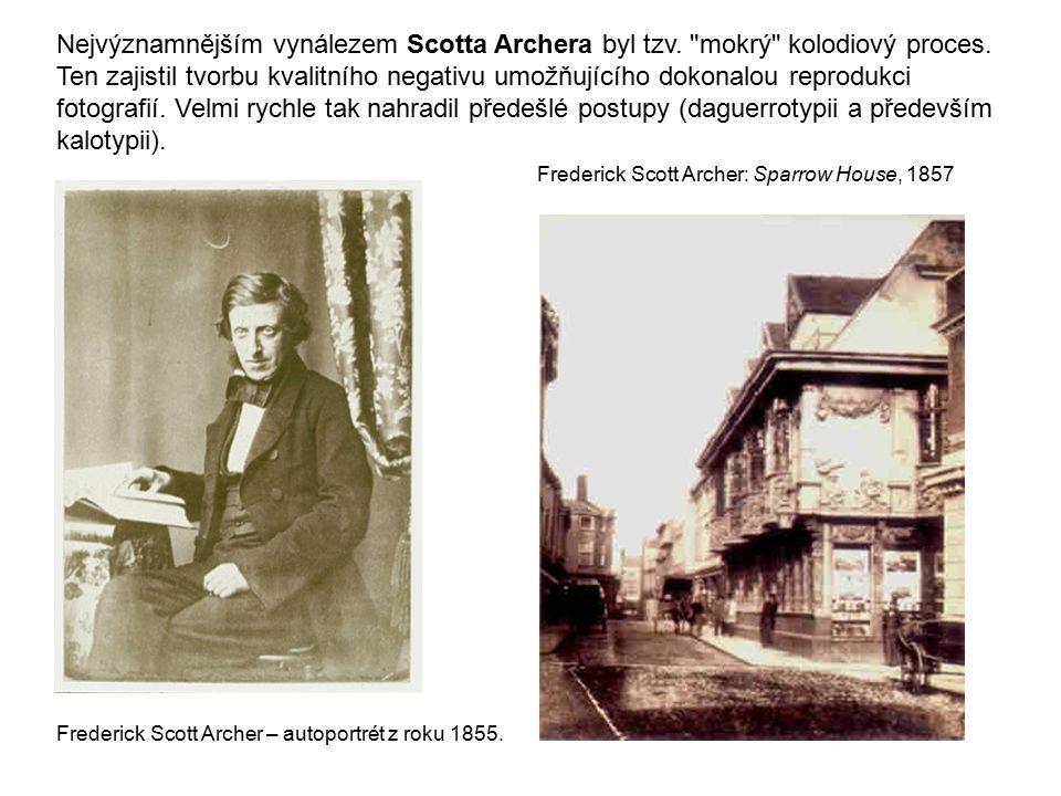 Nejvýznamnějším vynálezem Scotta Archera byl tzv.