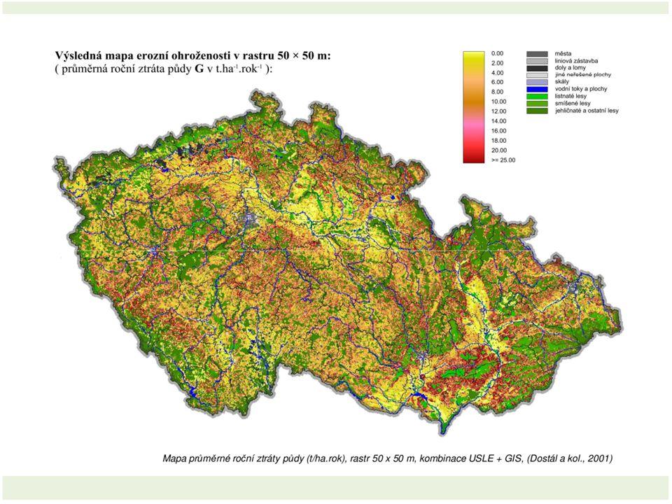 WEPP (Water Erosion Prediction Project) Plně fyzikálně založený model Odděluje erozi deštěm x odtokem Jednotlivý pozemek Velký počet parametrů Založen na principu stochastického generátoru počasí http://topsoil.nserl.purdue.edu/nserlweb