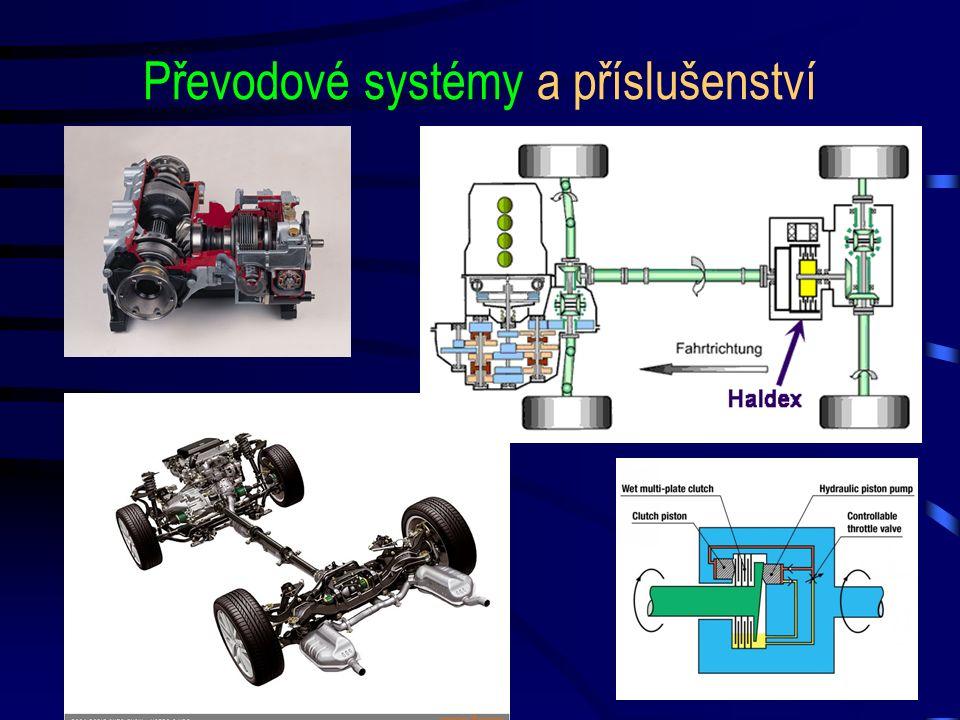 Převodové systémy a příslušenství