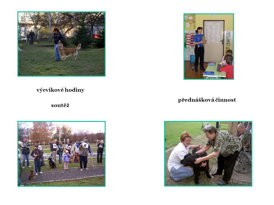 výcvikové hodiny soutěž přednášková činnost
