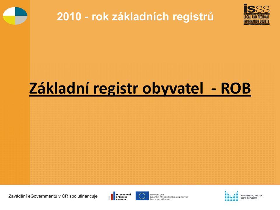 Základní registr obyvatel - ROB