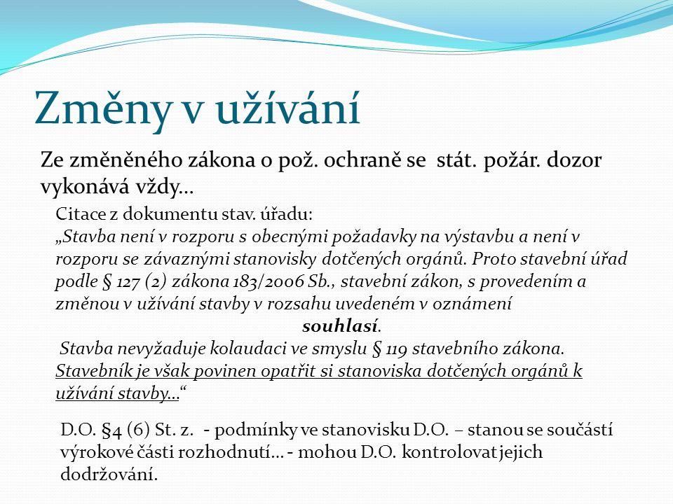 Novela Vyhlášky 246/2001 Sb., o požární prevenci Vyhl.