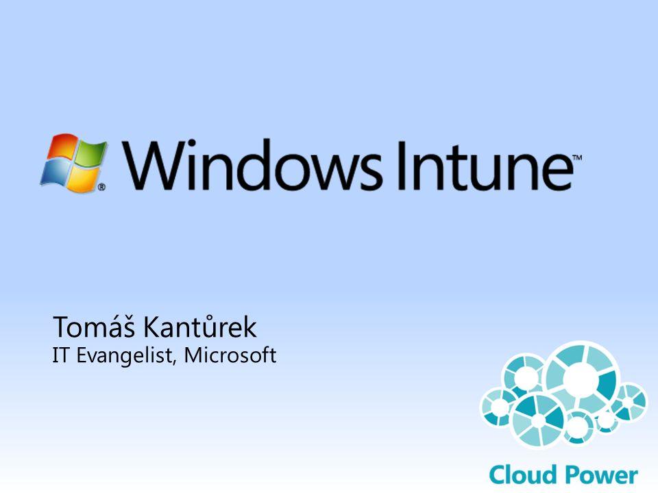 Užitečné odkazy Hlavní stránka Windows Intune: http://www.microsoft.com/cze/windows/windowsintune Vyzkoušení, objednání služby: http://www.microsoft.com/online/cs-cz/windows-intune.aspx