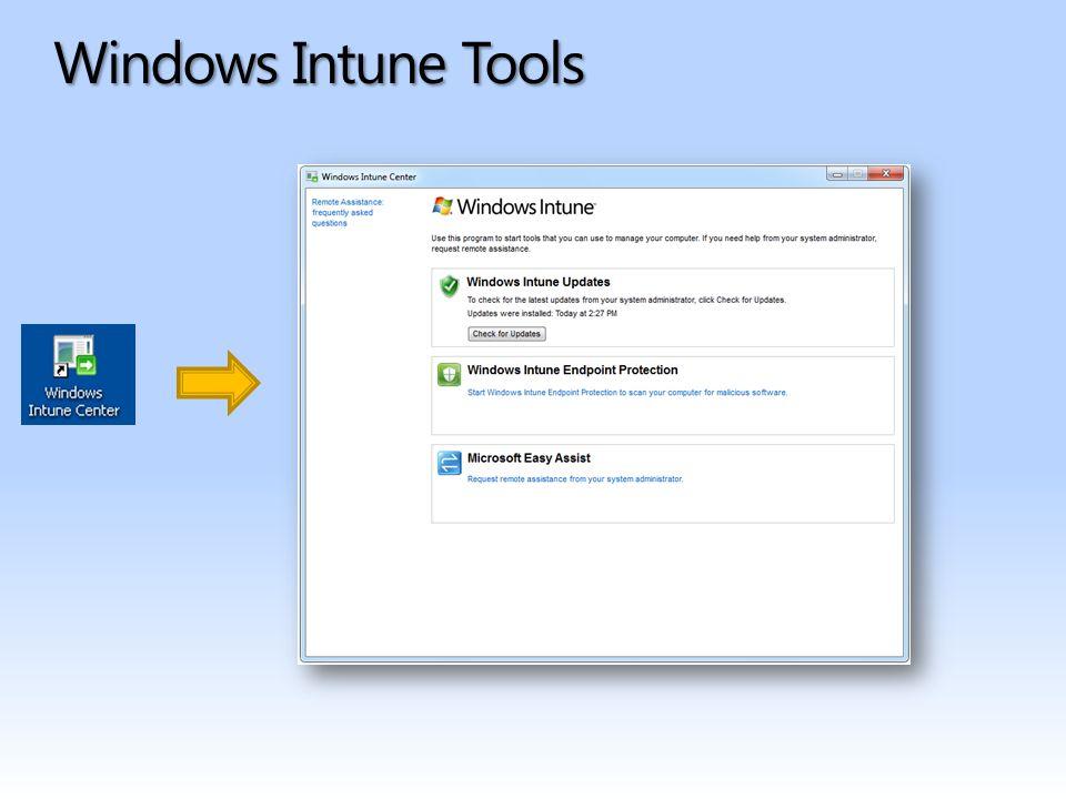 Patch management Managed Computer Microsoft Update Service Windows Intune Administrator Console Cloud Service 4 – schváleno k instalaci.