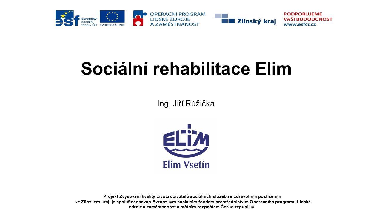 Projekt Zvyšování kvality života uživatelů sociálních služeb se zdravotním postižením ve Zlínském kraji je spolufinancován Evropským sociálním fondem