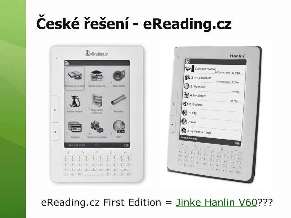 České řešení - eReading.cz eReading.cz First Edition = Jinke Hanlin V60 Jinke Hanlin V60