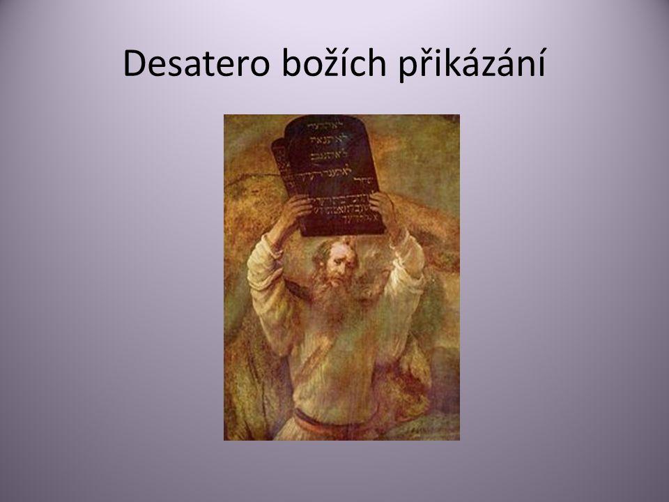 Desatero božích přikázání