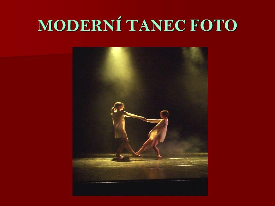 MODERNÍ TANEC FOTO