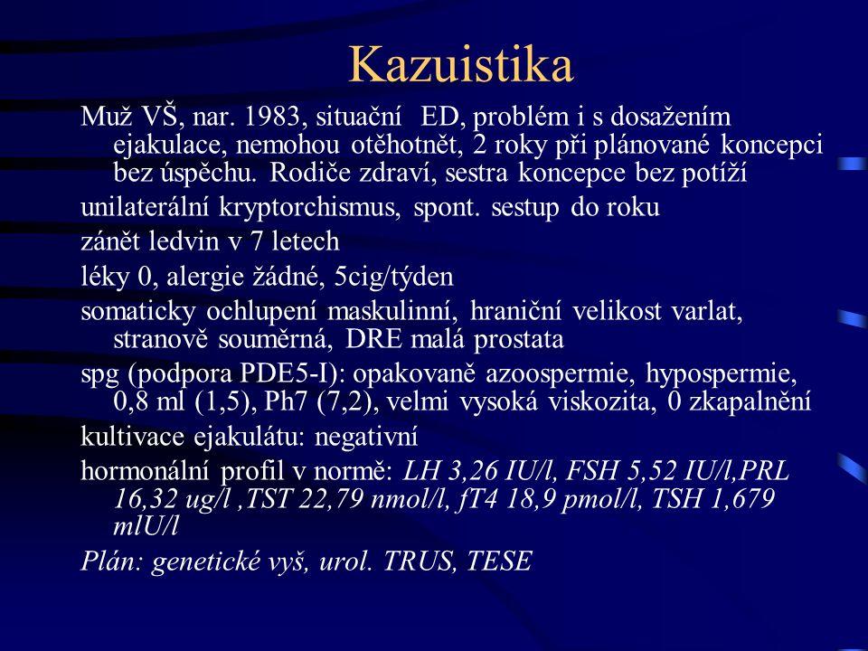 Kazuistika Muž VŠ, nar.