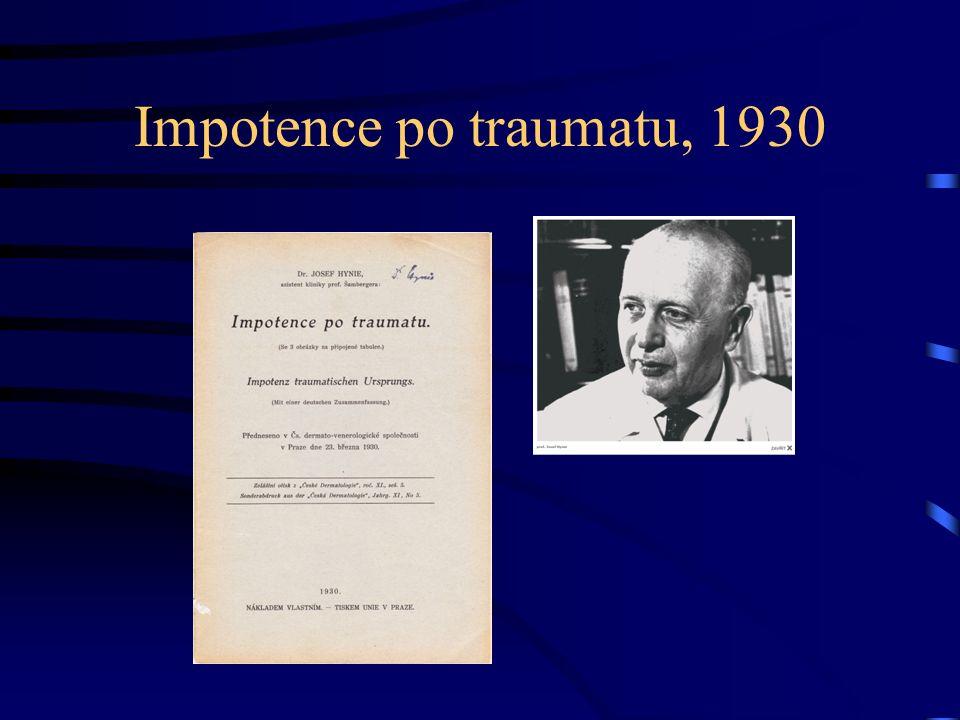 Impotence po traumatu, 1930