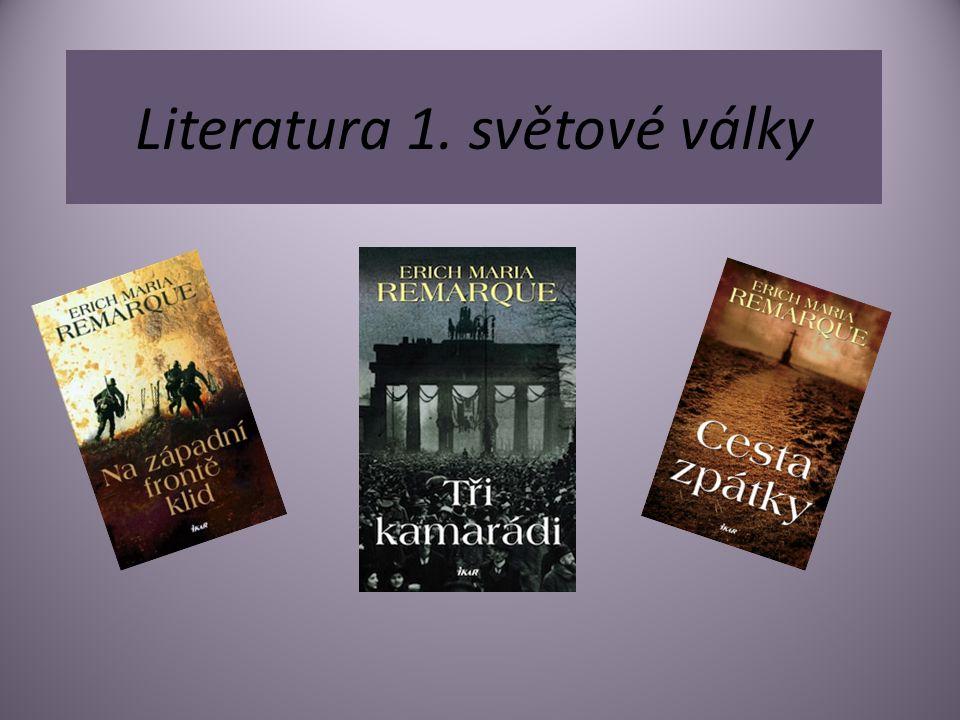 Literatura 1. světové války
