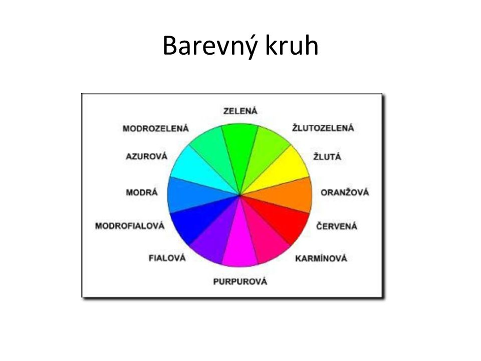 Sazba a barvy Fyziologický vliv barev – Teplé – Studené Psychologie barev – Bílátvořivost – Červenástimuluje, zahřívá, sex – Černáochranná, stabilizuje, deprese – Žlutáuvolnění, soulad – Oranžováslunce, teplo, jídlo – Zelenápřirozená, uklidňuje, chlad, jedovatě – Fialováneklid, melancholie – Růžovásoucit, zklidnění – Světle modrávoda, vzduch, ticho, uklidnění – Tmavě modráklid, vážnost, dálky, rozjímání – Hnědázem – střízlivá, solidní, vážná, realistická, jistota – Šedásmutná, netečná, skromná