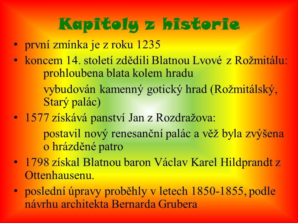 Kapitoly z historie první zmínka je z roku 1235 koncem 14.