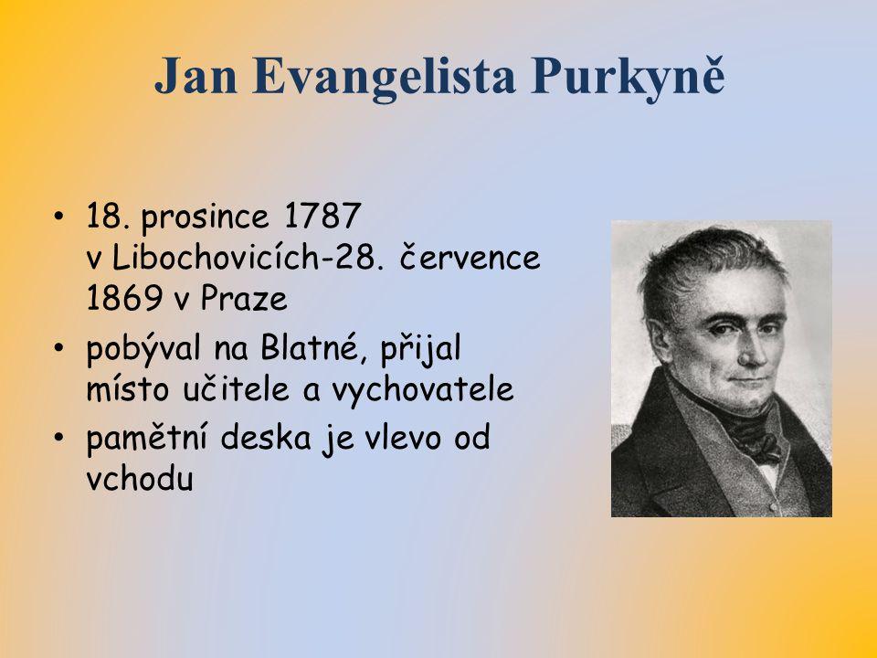 Jan Evangelista Purkyně 18. prosince 1787 v Libochovicích-28.