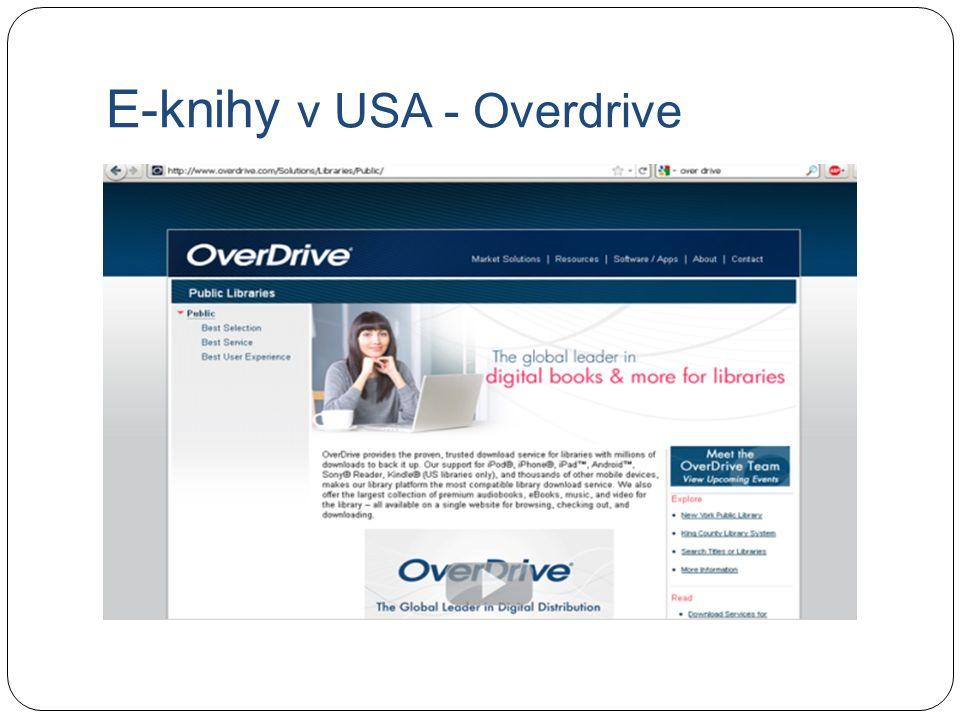 E-knihy v USA - Overdrive