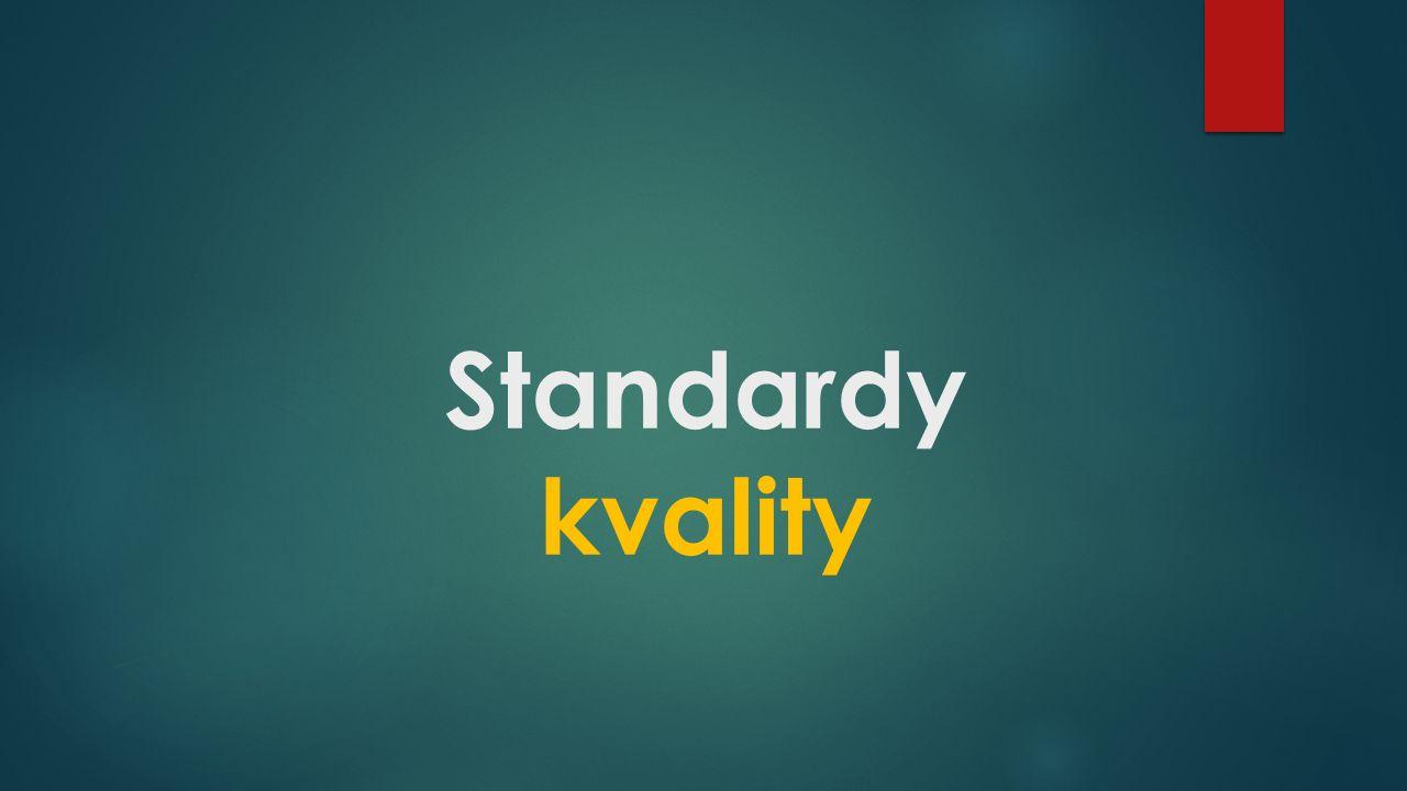Standardy kvality