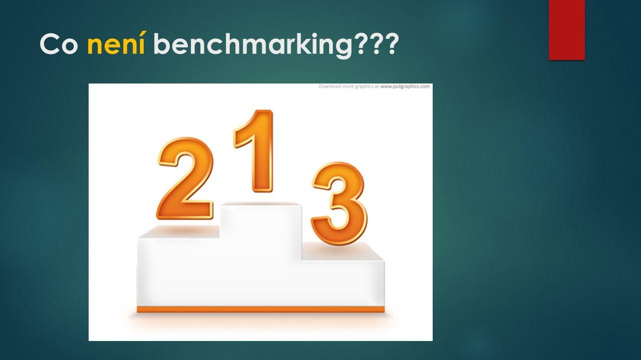 Co není benchmarking???