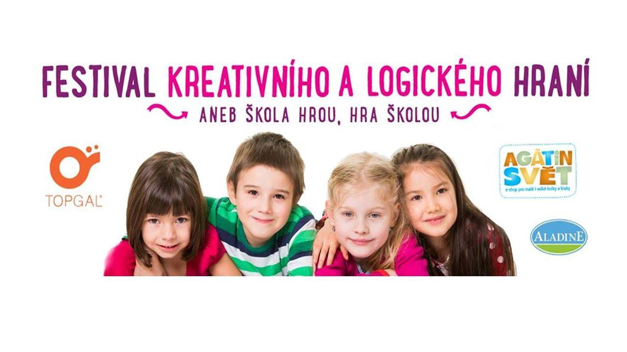 Pestrá přehlídka tvořivého a chytrého hraní pro rodiny s dětmi od 1 roku do 12 let