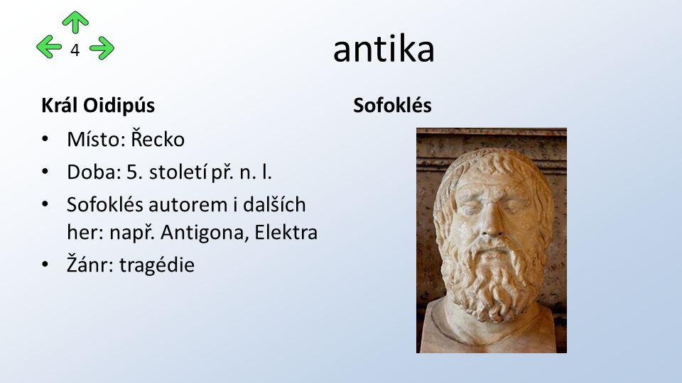 antika Komedie o hrnci Místo: Řím Doba: 3.století př.