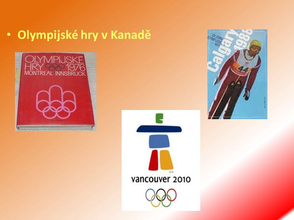 Olympijské hry v Kanadě
