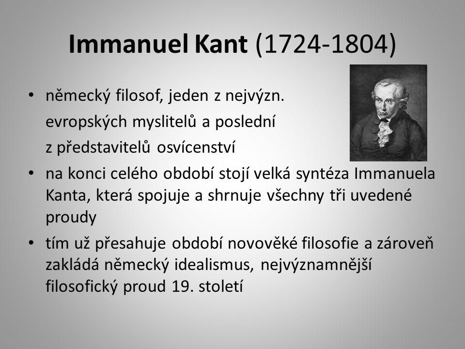 německý filosof, jeden z nejvýzn.