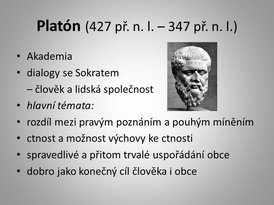 Platón (427 př.n. l. – 347 př. n.