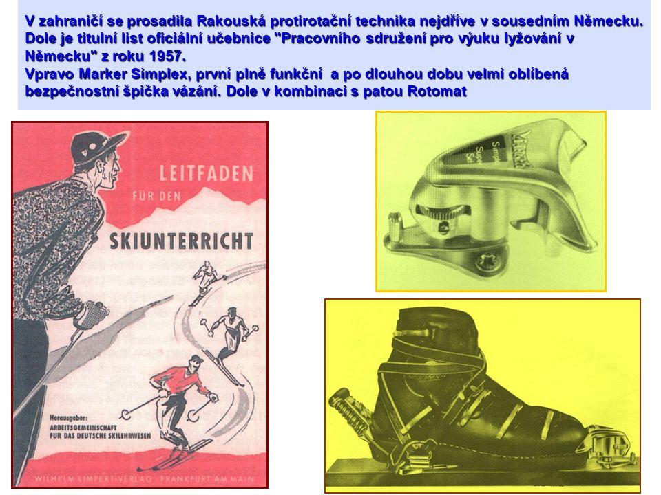 V zahraničí se prosadila Rakouská protirotační technika nejdříve v sousedním Německu. Dole je titulní list oficiální učebnice