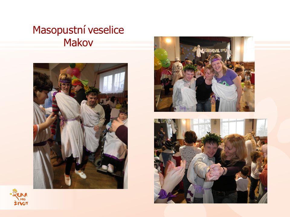 Masopustní veselice Makov