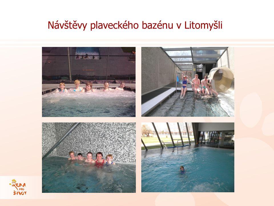 Návštěvy plaveckého bazénu v Litomyšli