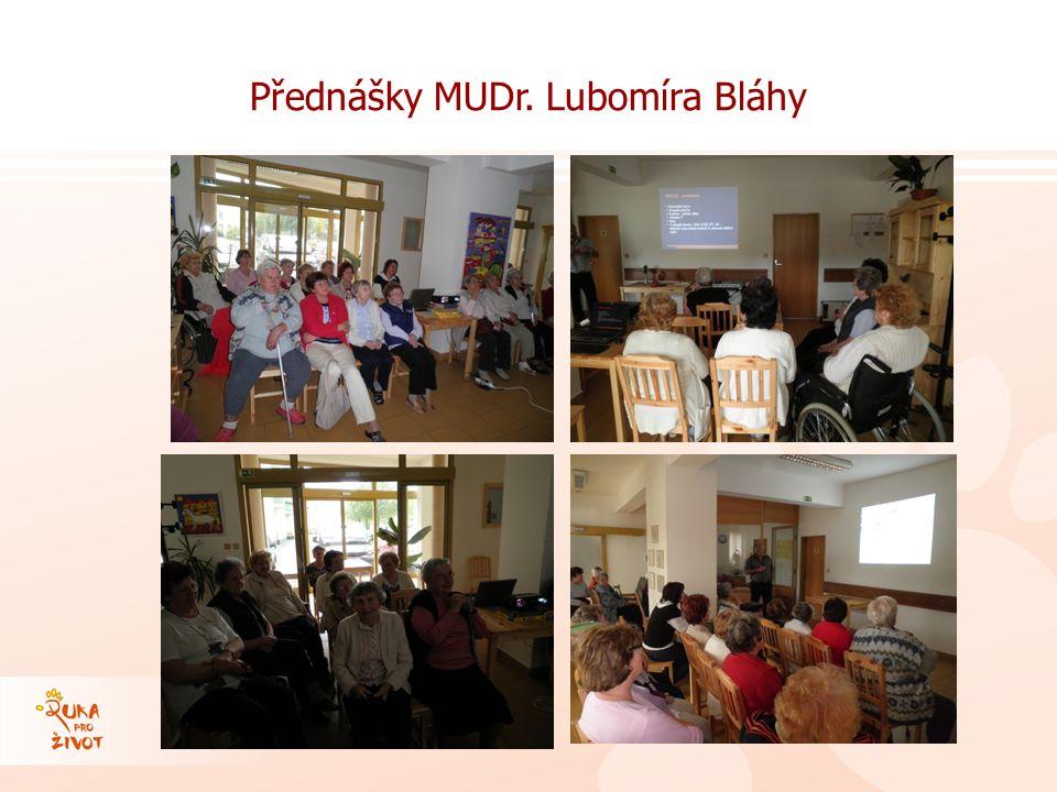 Přednášky MUDr. Lubomíra Bláhy
