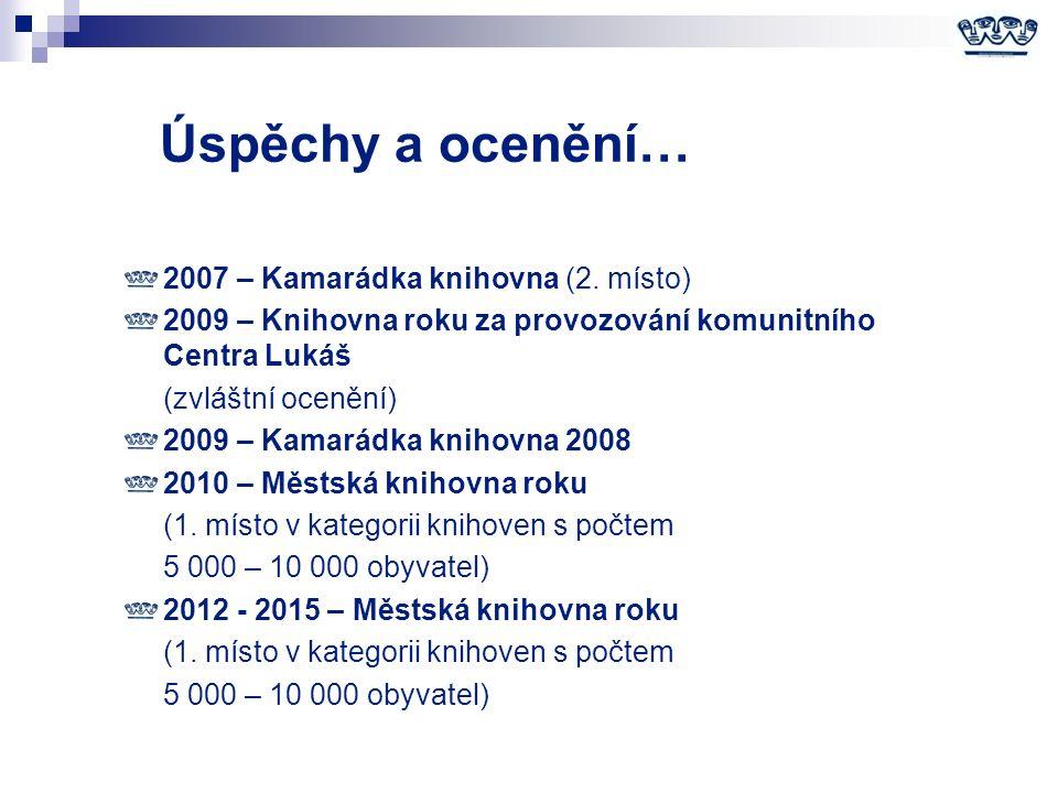 Úspěchy a ocenění… 2007 – Kamarádka knihovna (2.