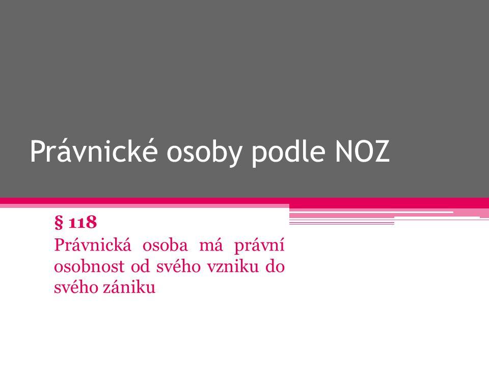 od 1.1. 2014 NOZ, ZOK, zákon č. 304/2013 Sb.