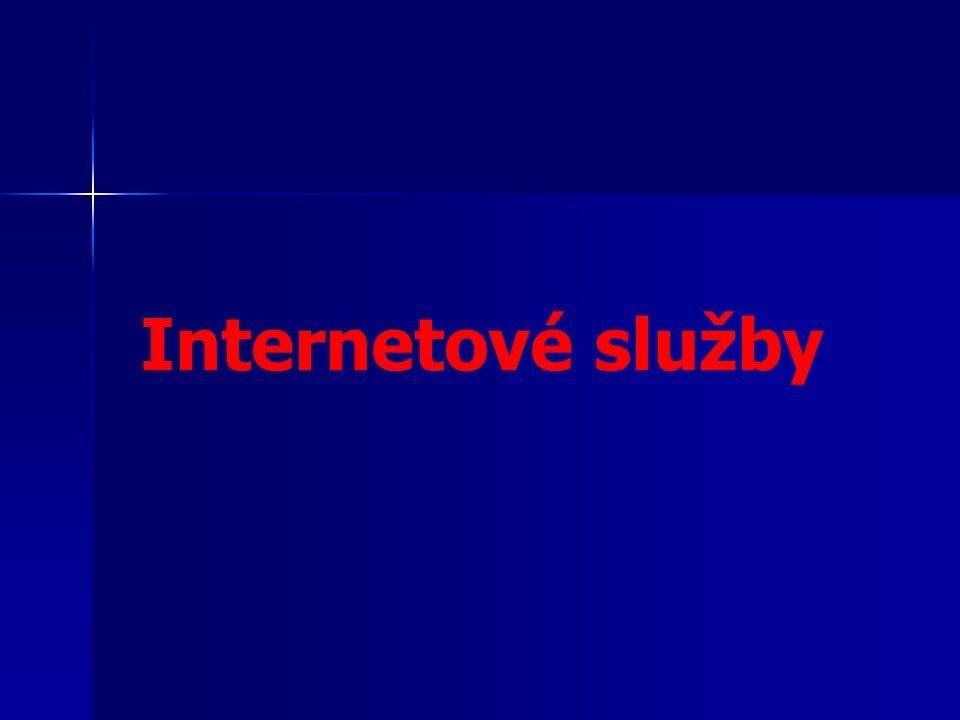 Internetové služby
