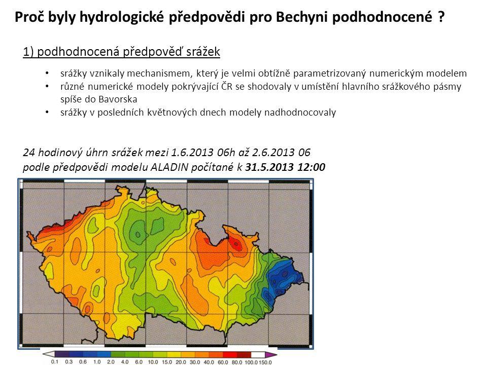 Proč byly hydrologické předpovědi pro Bechyni podhodnocené .