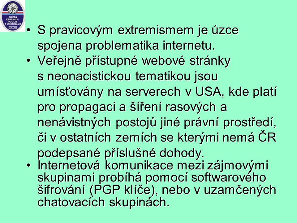 Problém extremismu na Internetu: Hlavní problém je exteritorialita internetu a odlišné pojetí svobody projevu v různých zemích. Hlavní problém je exte
