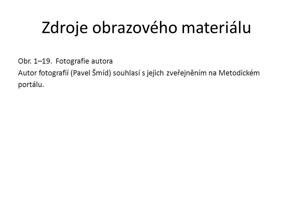 Zdroje obrazového materiálu Obr. 1–19.