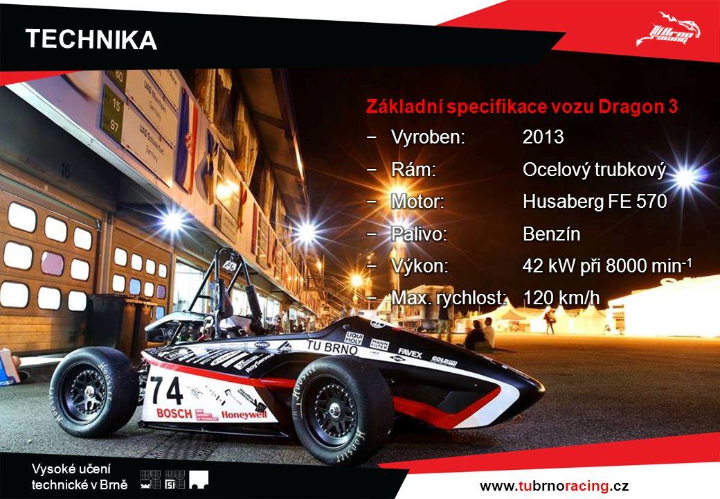 Vysoké učení technické v Brně TECHNIKA www.tubrnoracing.cz