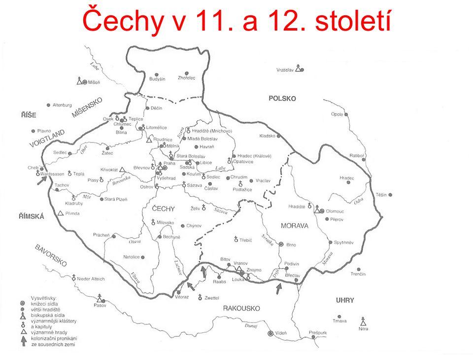 Čechy v 11. a 12. století