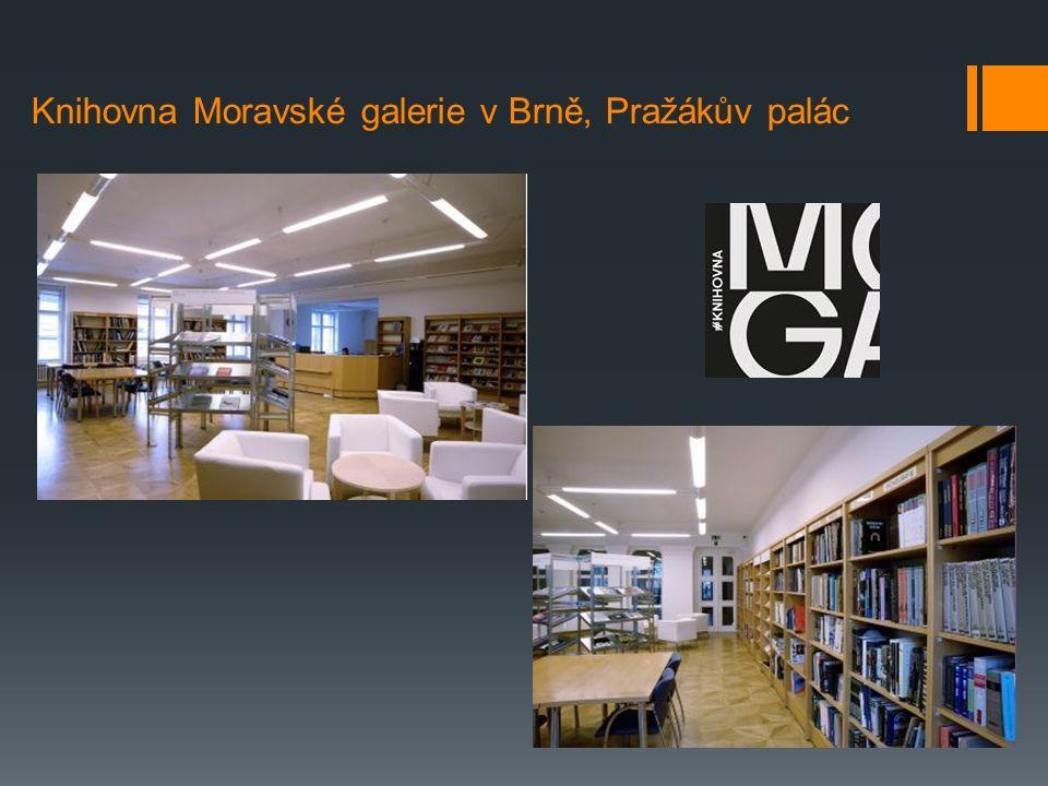 Knihovna Moravské galerie v Brně, Pražákův palác