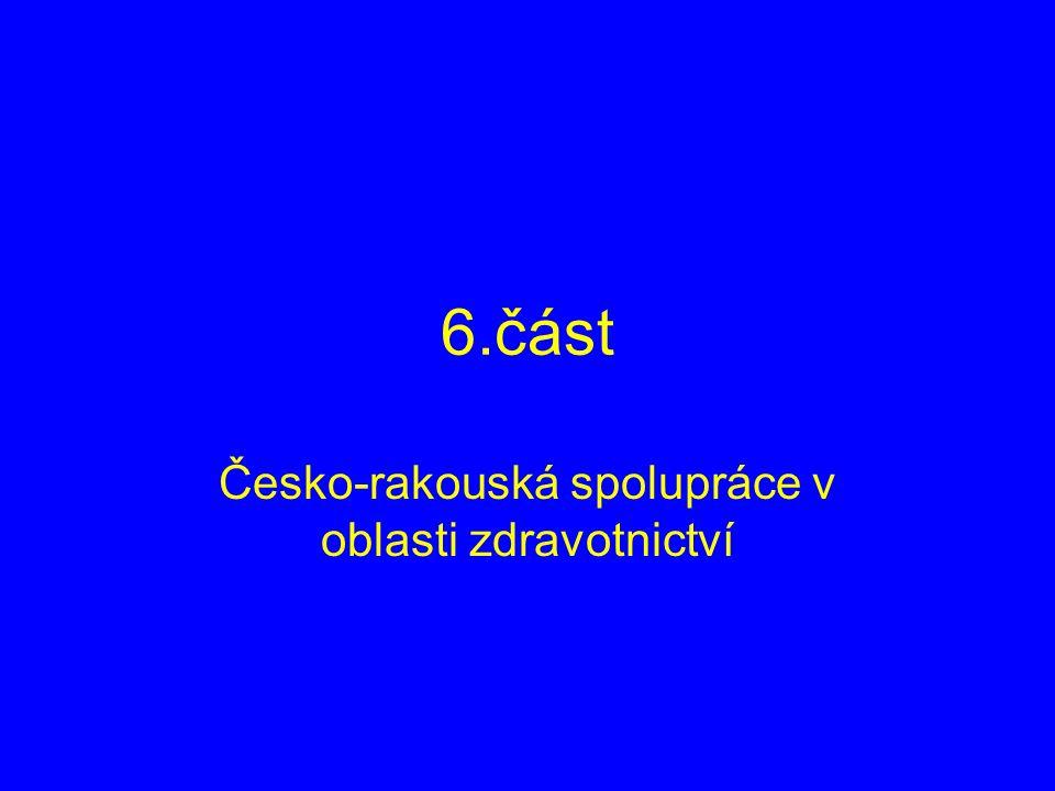 6.část Česko-rakouská spolupráce v oblasti zdravotnictví