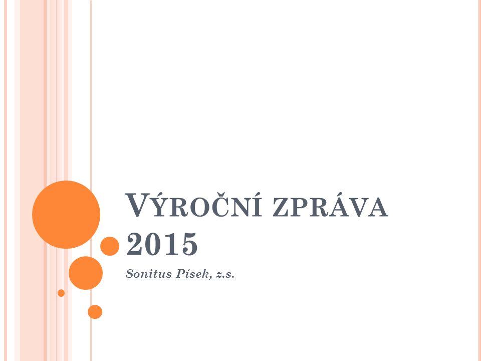 V ÝROČNÍ ZPRÁVA 2015 Sonitus Písek, z.s.