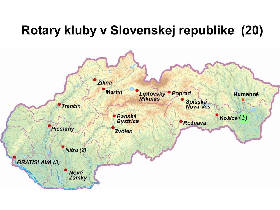 Rotary kluby v Slovenskej republike (20) (3) Humenné