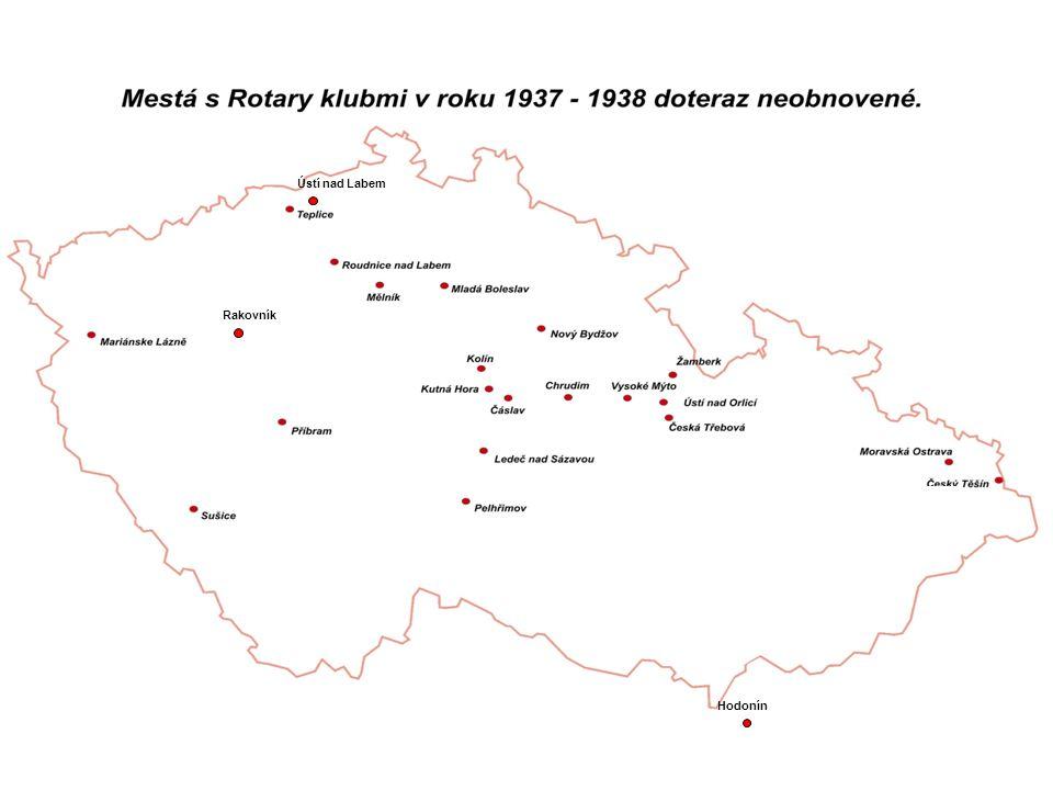 Hodonín Rakovník Ústí nad Labem