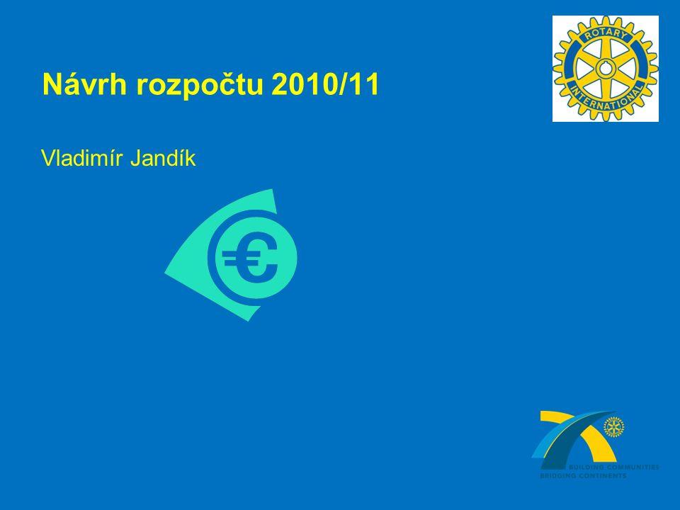 Návrh rozpočtu 2010/11 Vladimír Jandík