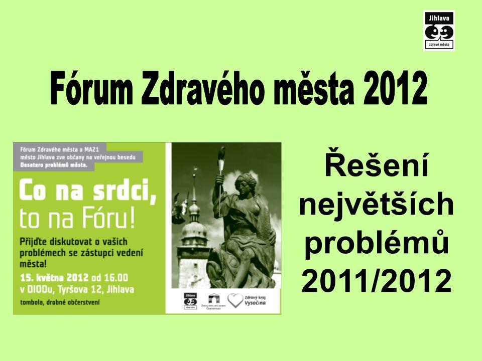 Řešení největších problémů 2011/2012