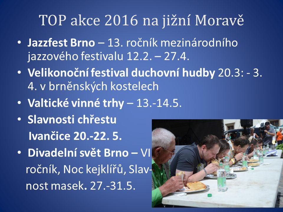 TOP akce 2016 na jižní Moravě Jazzfest Brno – 13. ročník mezinárodního jazzového festivalu 12.2.